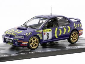Subaru Impreza 555 #6 8th Rallye Monte Carlo 1995 Liatti, Alessandrini 1:43 Altaya