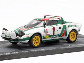 Lancia Stratos HF #1 Winner Rallye Monte Carlo 1977 Munari, Maiga 1:43 Altaya