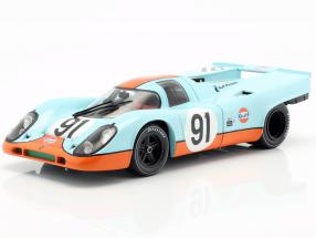 Porsche 917K Gulf #91 Can-Am Watkins Glen 1971 Attwood 1:18 CMR