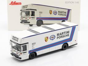 Mercedes-Benz O 317 Race Truck Porsche Martini Racing white 1:43 Schuco