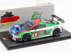 Audi R8 LMS #4 Winner 24h Nürburgring 2019 Kaffer, Stippler, Vervisch, Vanthoor 1:43 Spark