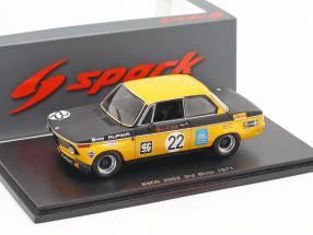 BMW 2002 #22 3rd Div. 2 GP Brno 1971 Hans Stuck 1:43 Spark