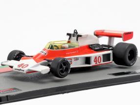 Gilles Villeneuve McLaren M23 #40 British GP formula 1 1977 1:43 Altaya