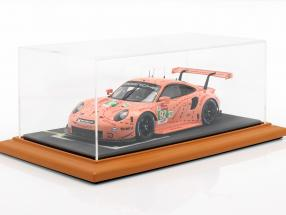 High quality acrylic Showcase with diorama baseplate starting grid 1:18 Atlantic
