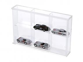 Small Showcase from Acrylic glass 6 shelf 180 x 115 x 30 mm SAFE