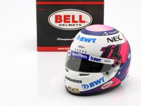 Sergio Perez Racing Point RP18 #11 formula 1 2019 helmet 1:2 Bell