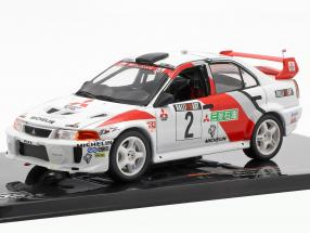 Mitsubishi Lancer Evo V #2 Champions Meeting 1998 Burns, Ralliart 1:43 Ixo
