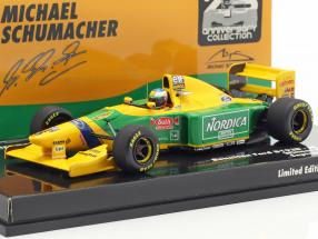 M. Schumacher Benetton B193B #5 Winner Portugal GP Formel 1 1993 1:43 Minichamps