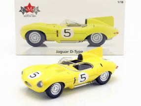 Jaguar D-Type #5 4th 24h LeMans 1956 Swaters, Rousselle 1:18 CMR