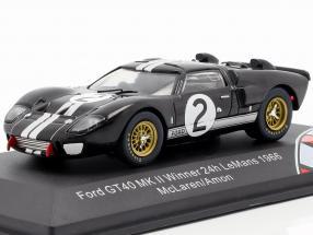 Ford GT40 MK II #2 Winner 24h LeMans 1966 McLaren, Amon 1:43 CMR