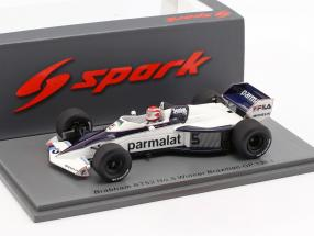Nelson Piquet Brabham BT52 #5 Brazil GP World Champion F1 1983 1:43 Spark