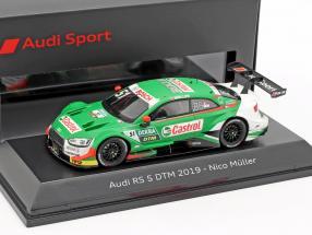 Audi RS 5 DTM #51 DTM 2019 Nico Müller 1:43 Spark