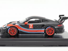 Porsche 911 (991 II) GT2 RS Clubsport #2 Martini Livery mit Vitrine 1:12