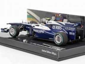 Nico Hülkenberg Williams FW32 #10 1st Pole Position Brazilian GP