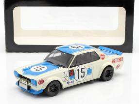 Nissan Skyline GT-R (KPGC-10) Racing #15 Winner 300km Fuji Speed Race 1972 1:18 AUTOart
