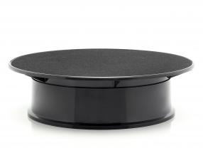Turntable diameter ca. 20 cm for model cars in scale  black