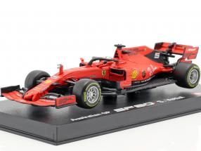 Sebastian Vettel Ferrari SF90 #5 Australian GP F1 2019 With Showcase 1:43 Bburago