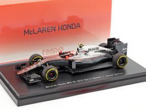 Jenson Button McLaren MP4-30 #22 Early Season Formel 1 2015 1:43 Ebbro