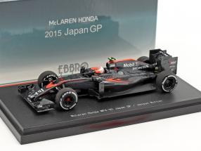 Jenson Button McLaren MP4-30 #22 Japan GP Formel 1 2015 1:43 Ebbro