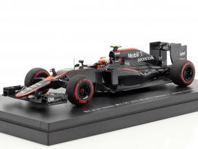 Jenson Button McLaren MP4-30 #22 Middle Season Formel 1 2015 1:43 Ebbro