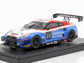 Nissan GT-R GT3 #2224h Spa 2015 Nissan GT Academy Team RJN 1:43 Ebbro