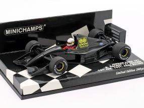 Bertrand Gachot Jordan 191 F1 Testing Paul Ricard Januar 1991 1:43 Minichamps