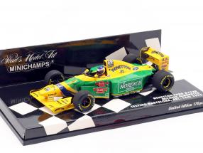 M. Alboreto Benetton B193B F1 Testing Barcelona Dezember 1993 1:43 Minichamps