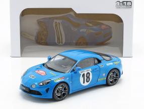 Alpine A110 Premiere Edition #18 Monte Carlo Historique 2018 1:18 Solido