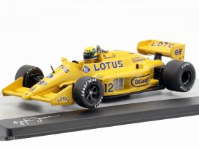 Ayrton Senna Lotus 99T #12 Winner Monaco GP formula 1 1987 1:43 Altaya