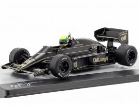 Ayrton Senna Lotus 98T #12 Brazil GP formula 1 1986 1:43 Altaya