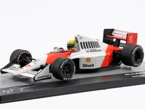 A. Senna McLaren MP4/5B #27 World Champion British GP formula 1 1990 1:43 Altaya