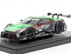 Nissan GT-R #24 Race 2 Fuji Super GT500 Series 2014 Krumm, Sasaki 1:43 Ebbro