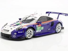 Porsche 911 (991) GT3 RSR #91 2nd LMGTE Pro 24h LeMans 2018 1:12 Spark
