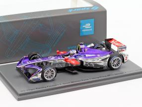 Sam Bird DS Virgin DSV-03 #2 Winner Hongkong ePrix Formel E 2017/18 1:43 Spark