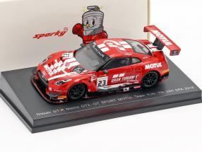 Nissan GT-R Nismo GT3 #23 7th 24h Spa 2018 Buncombe, Ordonez, Parry 1:64 Spark