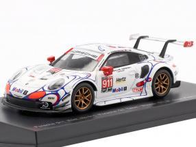 Porsche 911 RSR #911 Class Winner Petit LeMans 2018 Porsche GT Team 1:64 Spark
