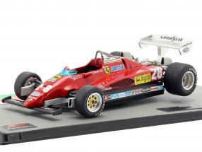 Mario Andretti Ferrari 126C2 #28 3rd Italien GP Formel 1 1982 1:43 Altaya