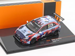 Hyundai i30 N TCR #1 WTCR 2019 Gabriele Tarquini 1:43 Ixo