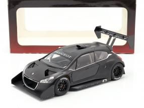 Peugeot 208 T16 Pikes Peak Plain Body Version 2013 schwarz 1:18 AUTOart