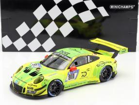 Porsche 911 (991) GT3 R #911 24h Nürburgring 2018 Manthey Grello 1:18 Minichamps