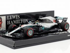 L. Hamilton Mercedes-AMG F1 W09 #44 World Champion Abu Dhabi GP F1 2018 1:43 Minichamps