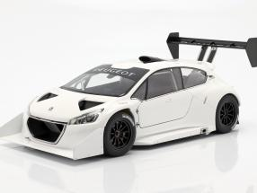 Peugeot 208 T16 Pikes Peak Plain Body Version 2013 weiß 1:18 AUTOart