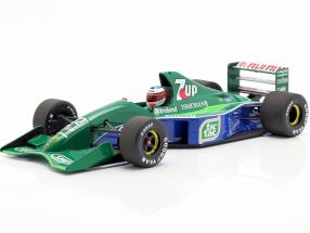 M. Schumacher Jordan 191 #32 F1 debut Belgium GP Spa 1991 1:18 Minichamps