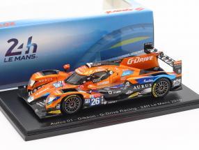 Porsche RS Spyder winner 12h Sebring 2008 penske racing DHL 1:43 Spark 43se08