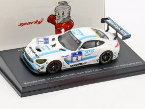 Mercedes-Benz AMG GT3 #4 winner 24h Nürburgring 2016 Team Black Falcon 1:64 Spark