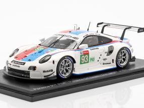 Porsche 911 RSR #93 3rd LMGTE Pro 24h LeMans 2019 Porsche GT Team 1:43 Spark