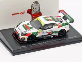 Nissan GT-R Nismo GT3 #23 FIA GT World Cup Macau 2018 Tsugio Matsuda 1:64 Spark