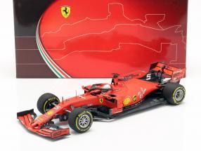 Sebastian Vettel Ferrari SF90 #5 4th Australian GP formula 1 2019 1:18 BBR