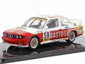 BMW M3 (E30) #59 24h Spa 1987 Bastos Racing Team 1:43 Ixo