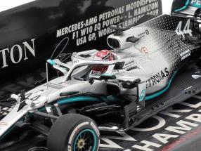 L. Hamilton Mercedes-AMG F1 W10 #44 United States GP World Champion F1 2019